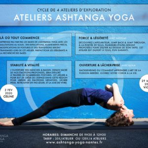 stage ashtanga yoga, Nantes
